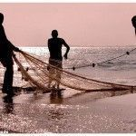equipo pescador