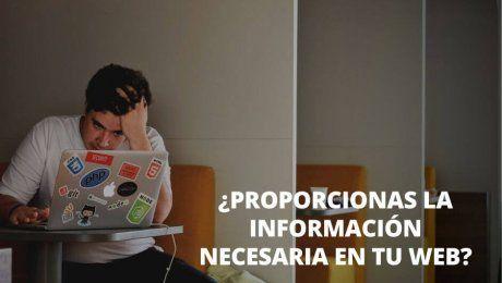 informacion necesaria web